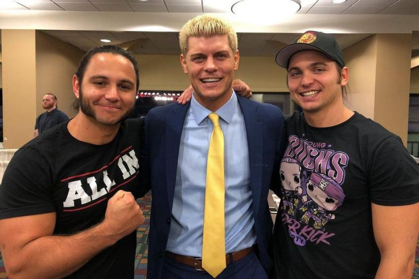 The Young Bucks speak about AEW Dynamite