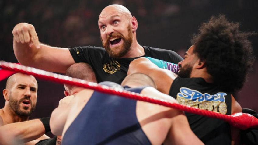 Tyson Fury discusses his time in WWE