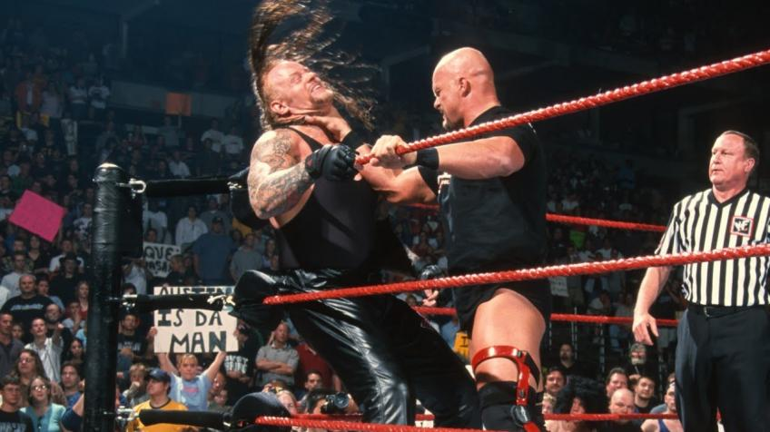 Steve Austin discusses his work with The Undertaker