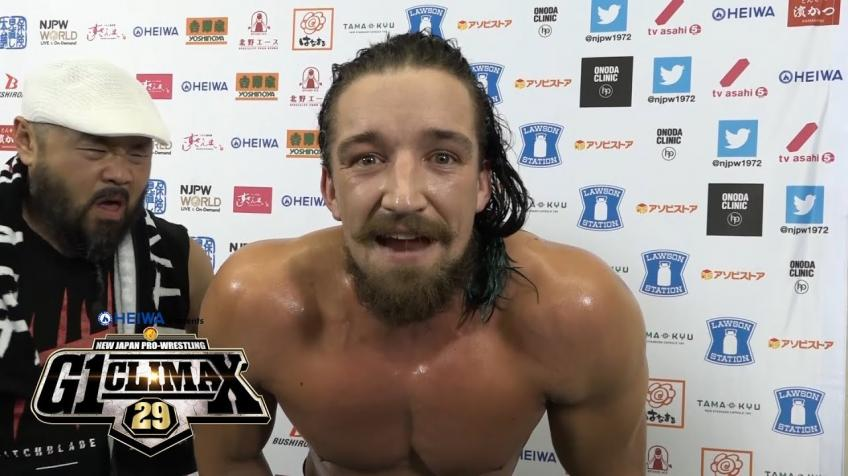 Jay White on Becoming Double Champion
