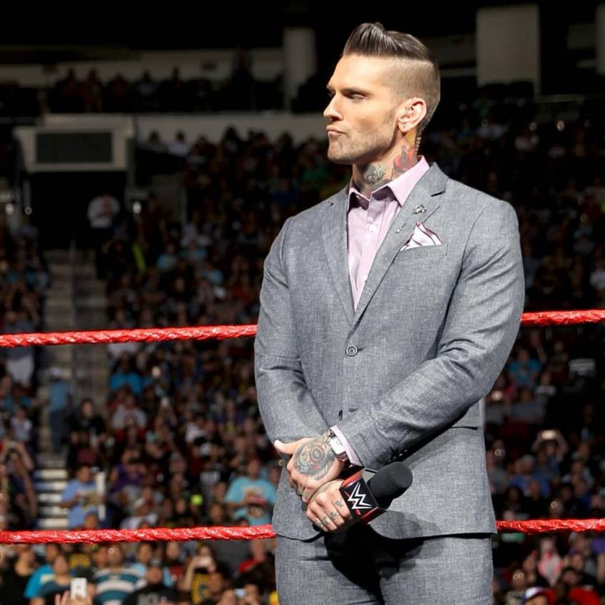 Corey Graves on Nearly Joining Creative Team