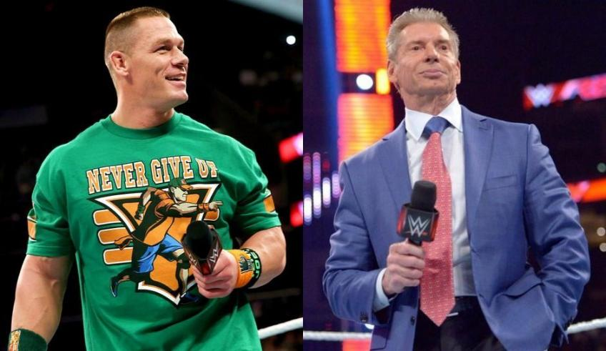 John Cena talks about his relationship with Vince McMahon