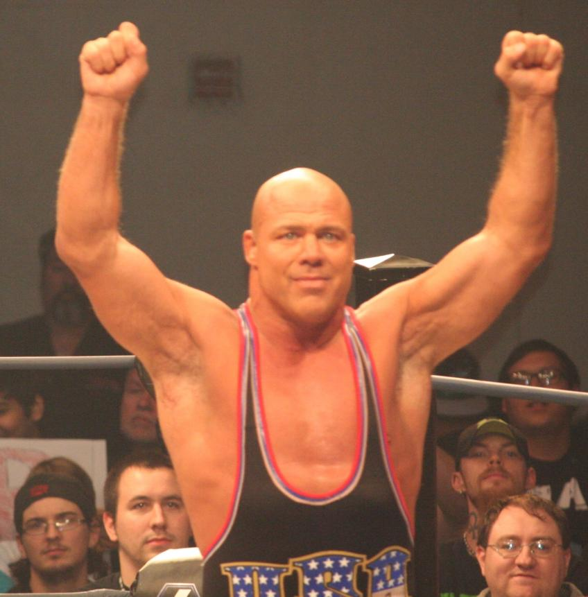 Kurt Angle on Reconnecting with His Family