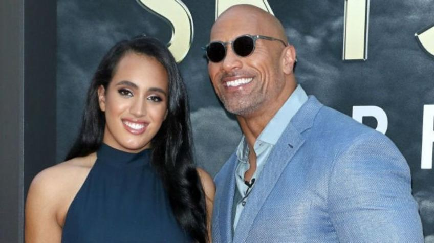 The Rock Sends a Message to His Daughter