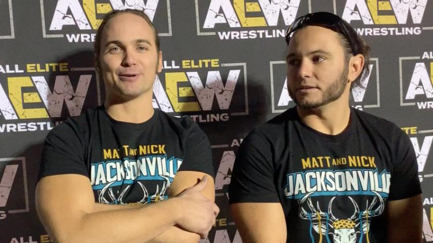 The Young Bucks on planning matches