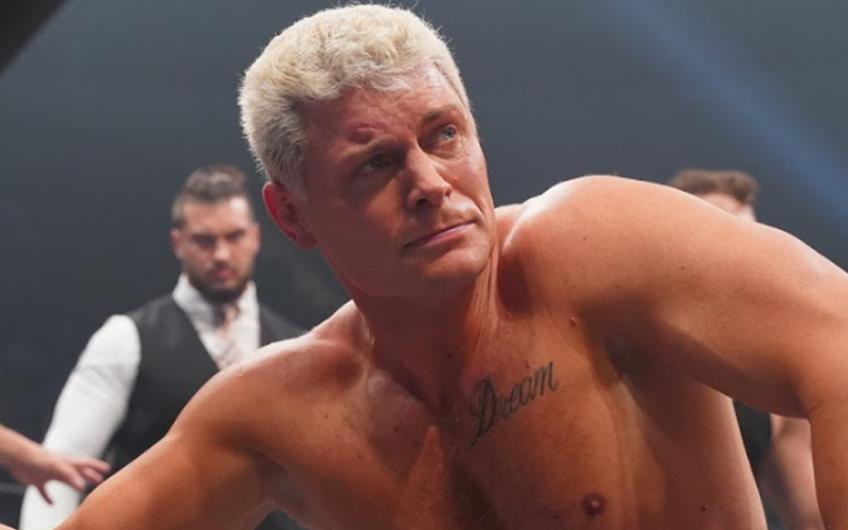 Cody on AEW's action figure line with Jazwares