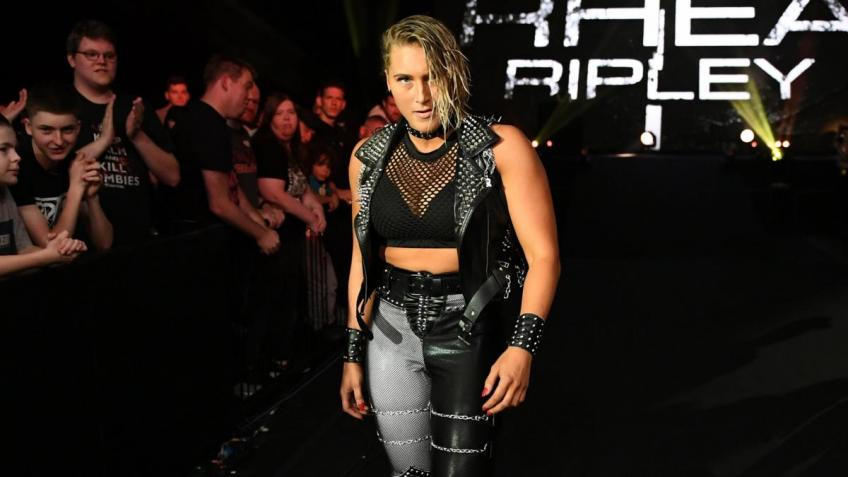 Rhea Ripley discusses her game plan for Charlotte Flair at WrestleMania 36