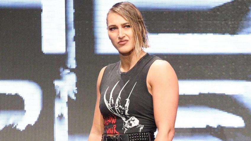 Rhea Ripley reveals her mental struggles while training at the Performance Center
