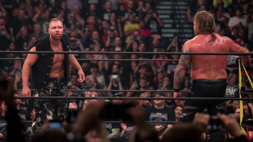 Jon Moxley discusses his feud with Chris Jericho