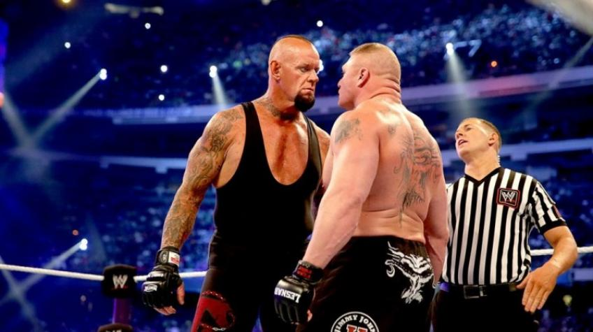 The Undertaker recalls his UFC 121 confrontation with Brock Lesnar