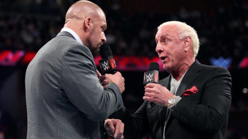 Triple H on Ric Flair wrestling elsewhere after his retirement