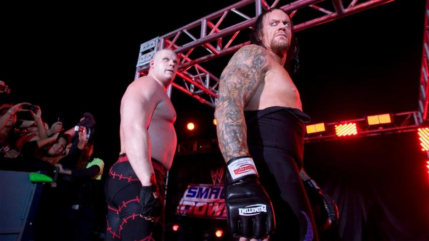 Kane discusses The Undertaker as his mentor