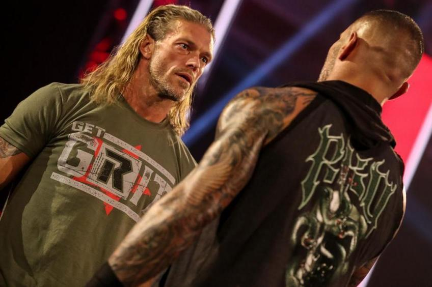 Randy Orton discusses WWE hyping his match with Edge at Backlash