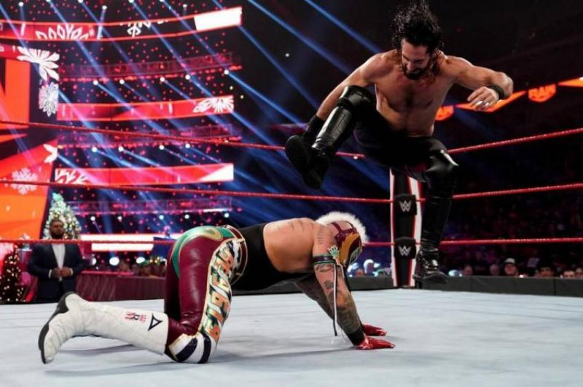 Seth Rollins discusses his feud with Rey Mysterio