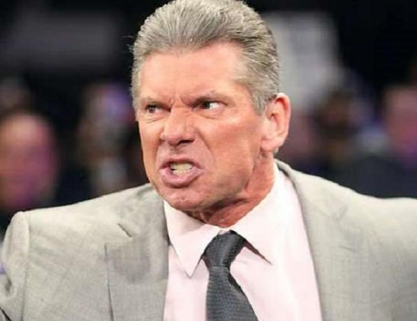 Vince McMahon left WWE tapings early