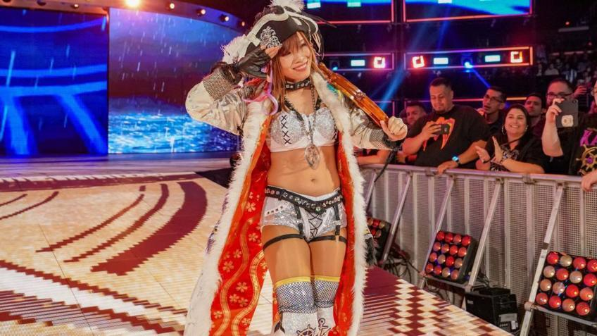 Kairi Sane's picture removed from Raw preview