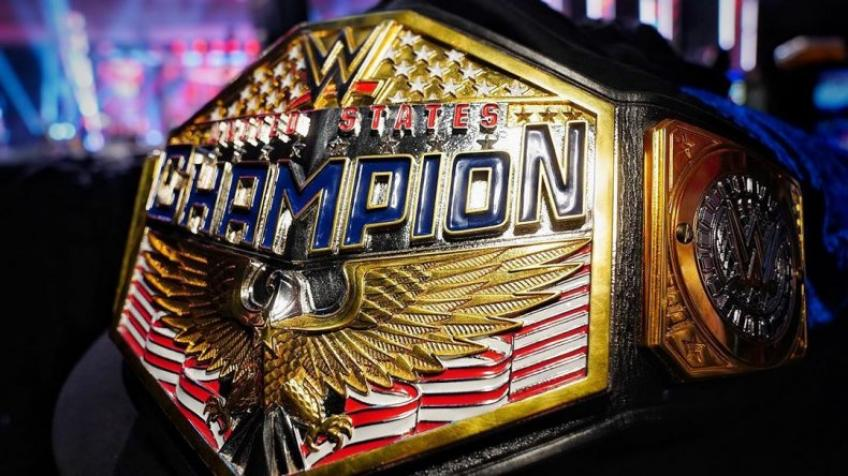 The new WWE United States Championship title is not yet official