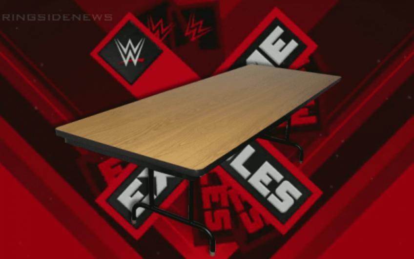 WWE to add tables match to Horror Show at Extreme Rules