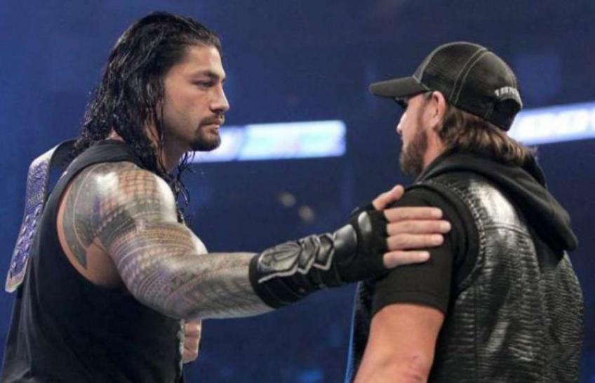 AJ Styles discusses Roman Reigns' absence