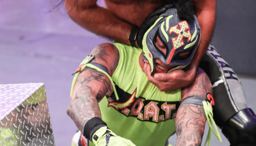 Rey Mysterio's contract negotiations with WWE
