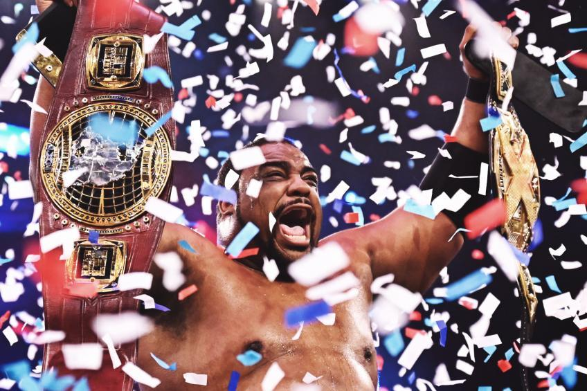 Keith Lee relinquishes the WWE NXT North American Title