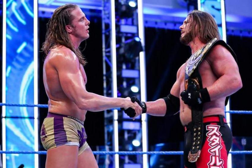 Reason why WWE ended the feud of AJ Styles and Matt Riddle