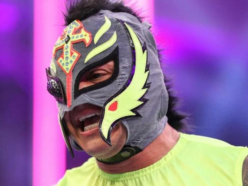 Ryback discusses the idea of Rey Mysterio showing up in AEW