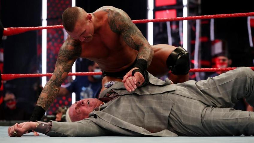 WWE cut several minutes of Randy Orton's promo on Raw