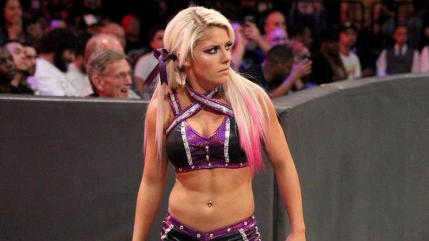 Alexa Bliss on her entry in the world WWE