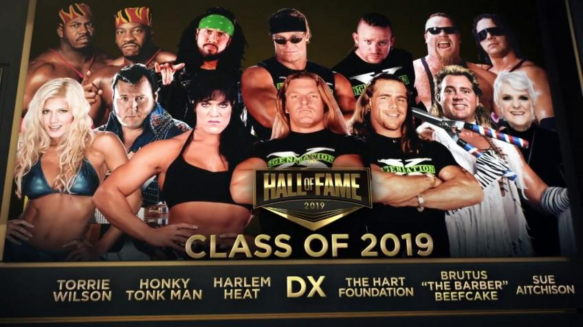 What are WWE's plans for its Hall of Fame ceremony?