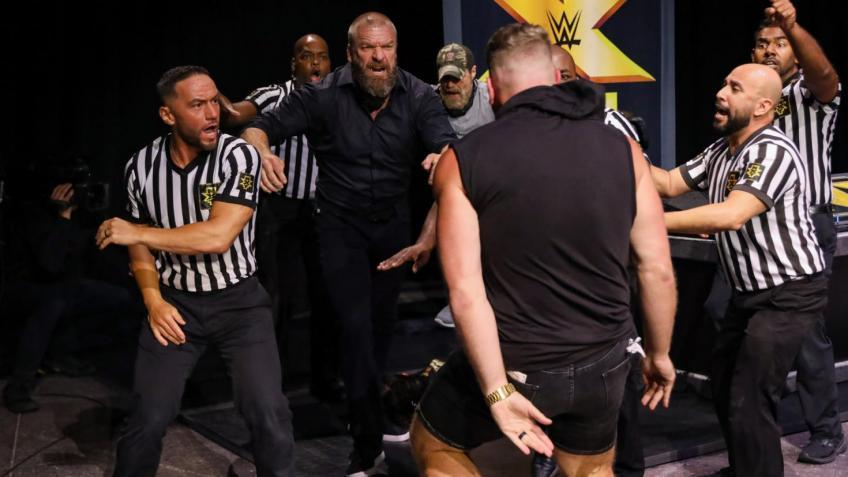 Pat McAfee details the heated confrontation with Triple H