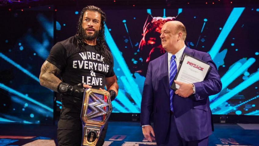 *Spoiler* Roman Reigns will defend his WWE Universal Championship against...