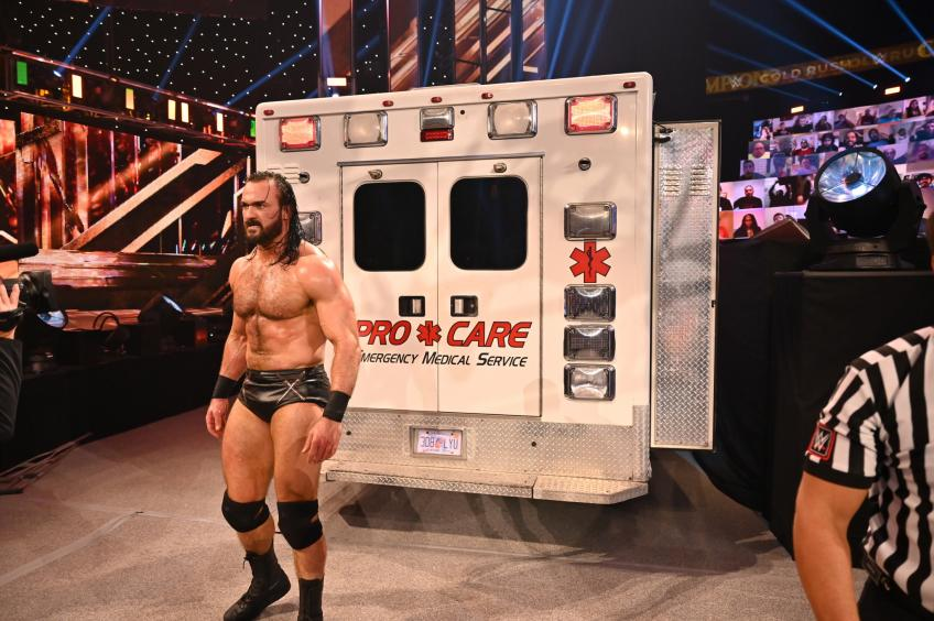 Drew McIntyre wants a title for title match with Roman Reigns