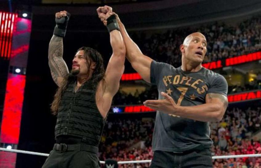 Is WWE teasing a Roman Reigns-The Rock match-up for the future?