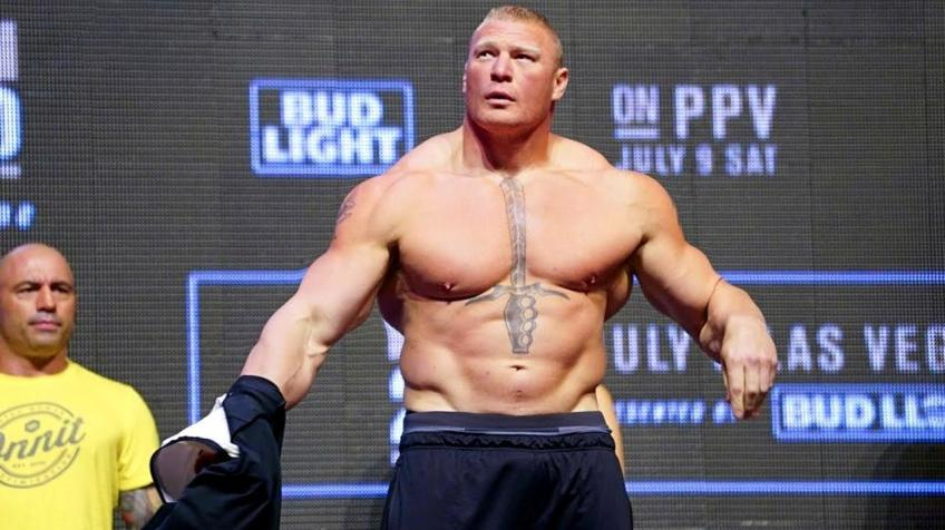 Is Brock Lesnar moving to the UFC from the WWE?