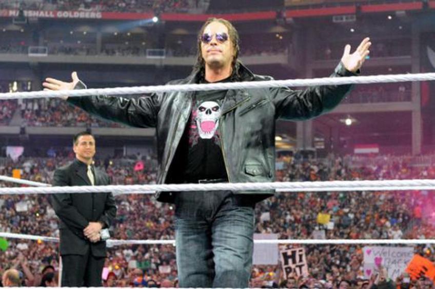 Bret Hart reveals that he once pitched Eric Bischoff about having a cat