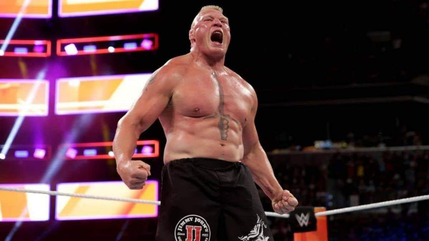 Brock Lesnar spotted with an exciting new look