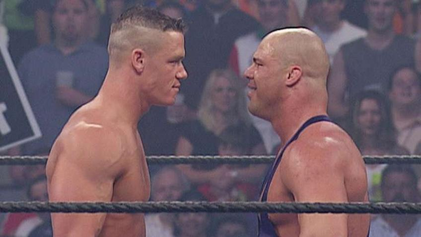 Kurt Angle reveals the greatest WWE wrestler of all time