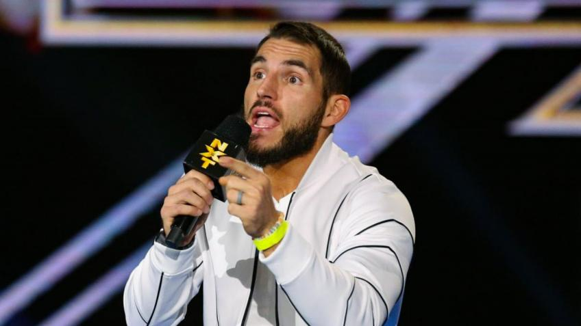 Johnny Gargano selects possible opponents for his title reign