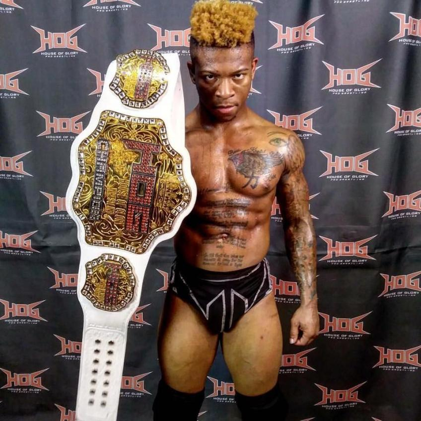 Lio Rush on Winning the Cruiserweight Title