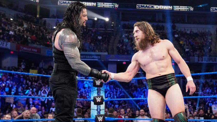 When will Roman Reigns and Daniel Bryan face off for the title?
