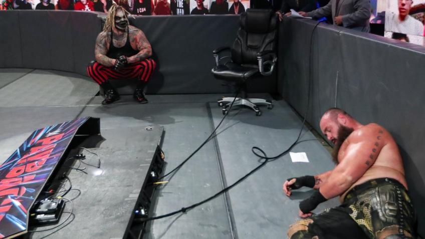 Note on Braun Strowman's creative changes