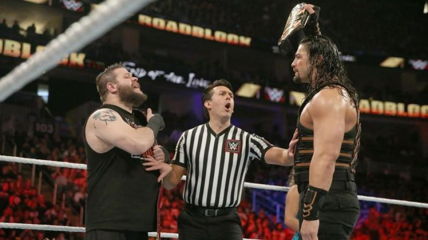 Kevin Owens sends a message to Roman Reigns in French
