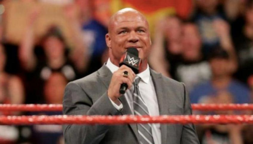 Kurt Angle tried to convince Wardlow to sign with WWE
