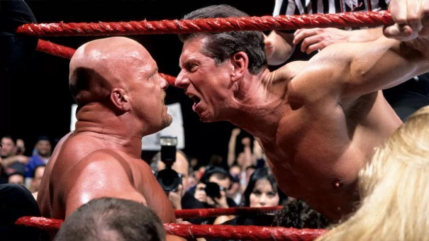 Steve Austin clears up his real-life animosity with Vince McMahon