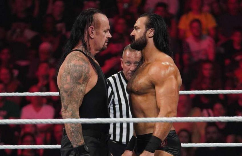 """Drew McIntyre reveals why he would """"harass"""" The Undertaker"""