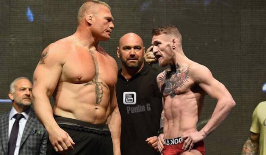 Brock Lesnar had brutal reply about possibility of facing Conor McGregor