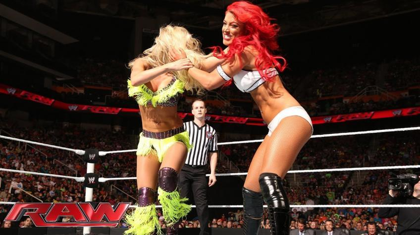 Eva Marie spotted backstage on Raw for a big reason
