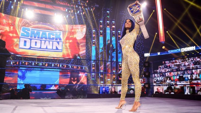 Why Sasha Banks was missing from WWE SmackDown