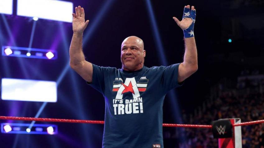 Kurt Angle clarifies his absence from WWE Raw Legends Night